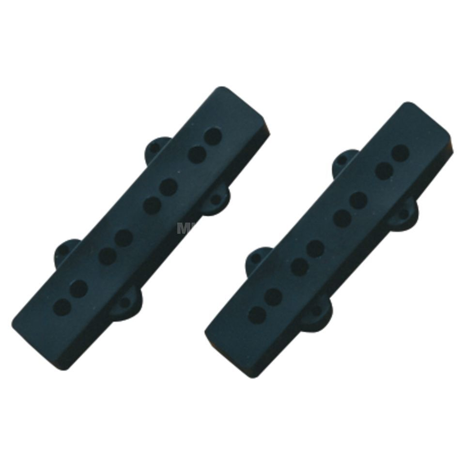 Fender Pickup Cover Jazz Bass Black Zdjęcie produktu