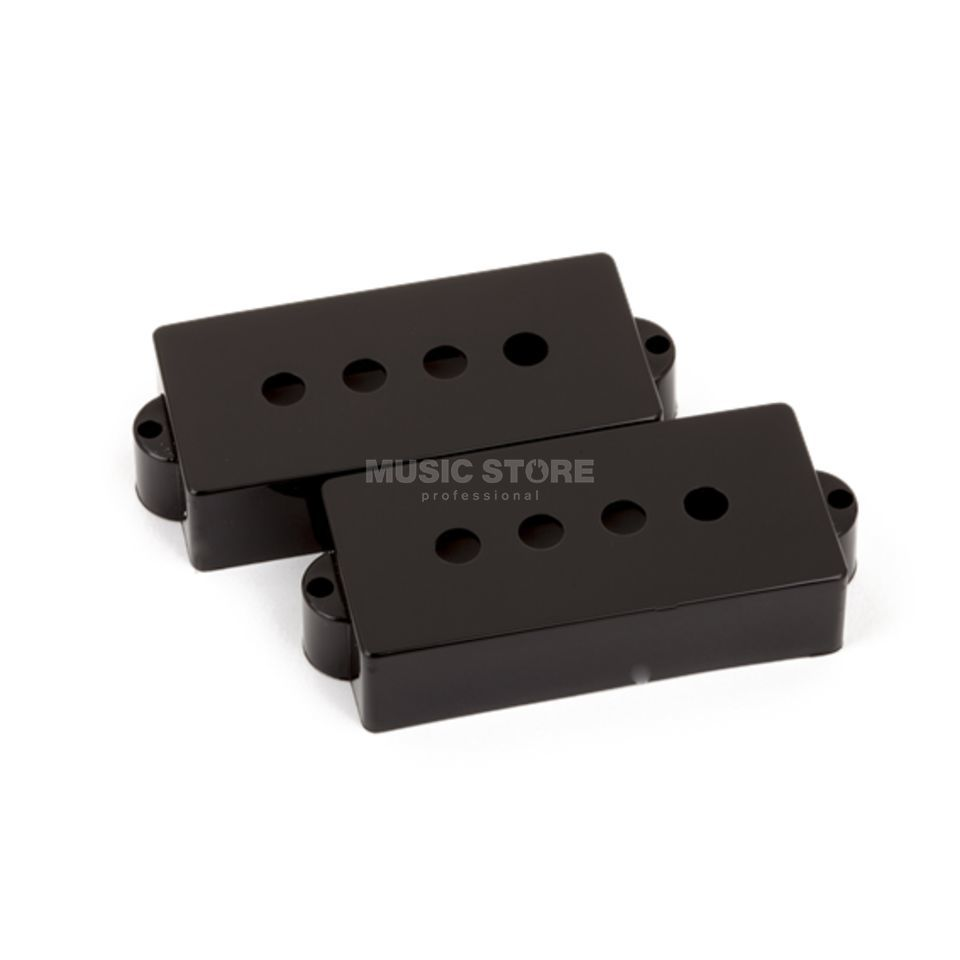 Fender Pickup Cover Precision Bass Black Zdjęcie produktu