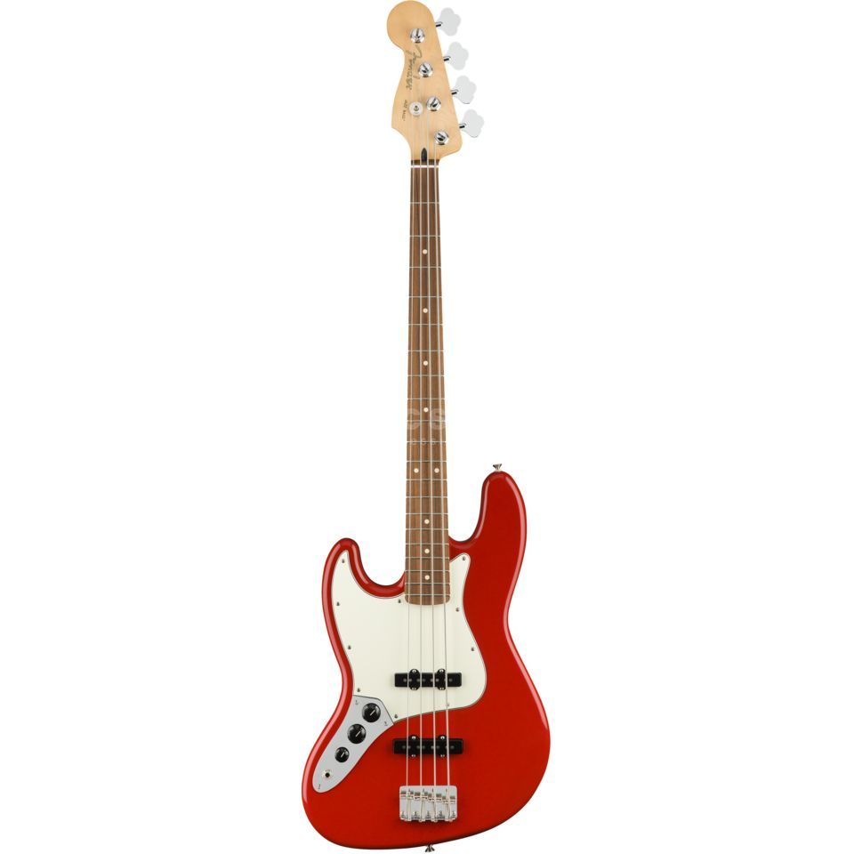 Fender Player Jazz Bass Lefthand PF Sonic Red Produktbild