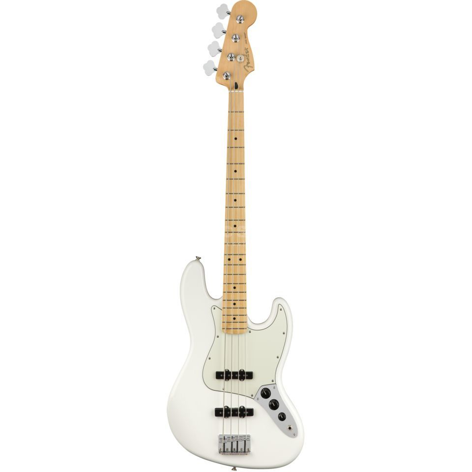 Fender Player Jazz Bass MN Polar White Product Image