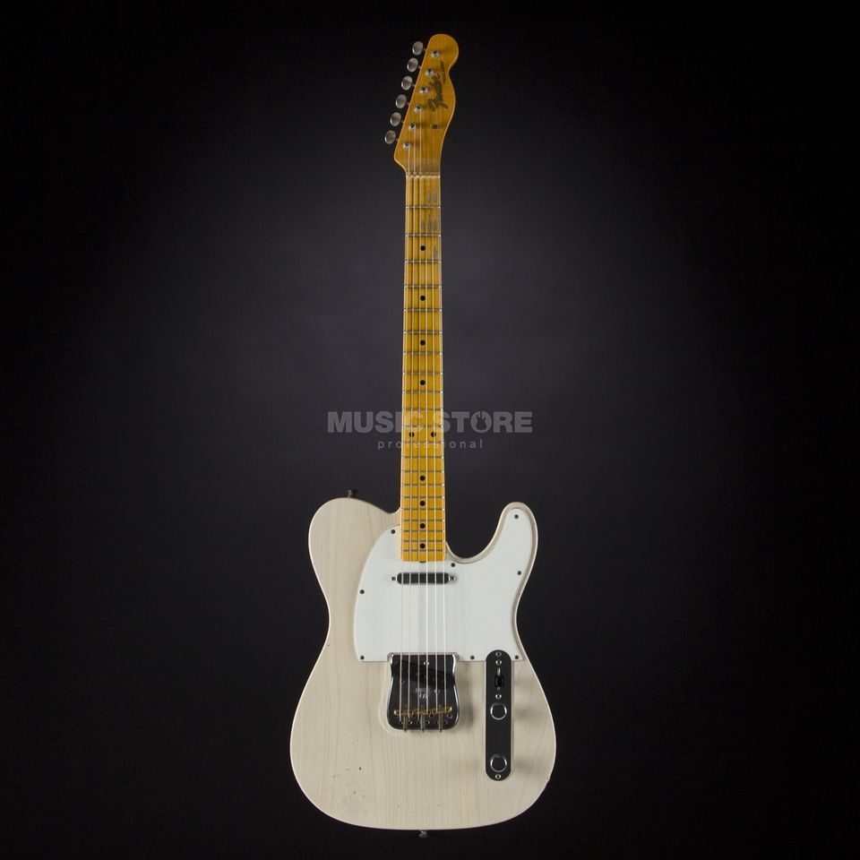 Fender Postmodern Journeyman Relic Telecaster Aged White Blonde #0626 Product Image