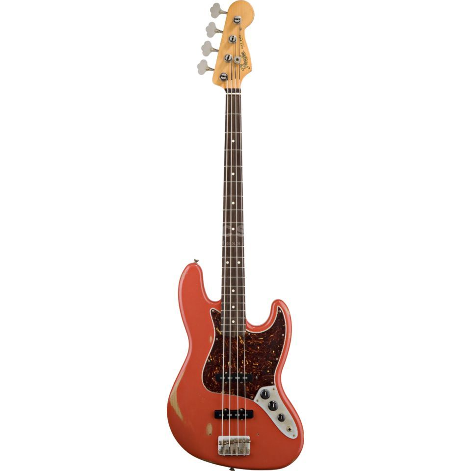 Fender Road Worn '60s J-Bass RW FRD Fiesta Red, incl. Funda Imagen del producto