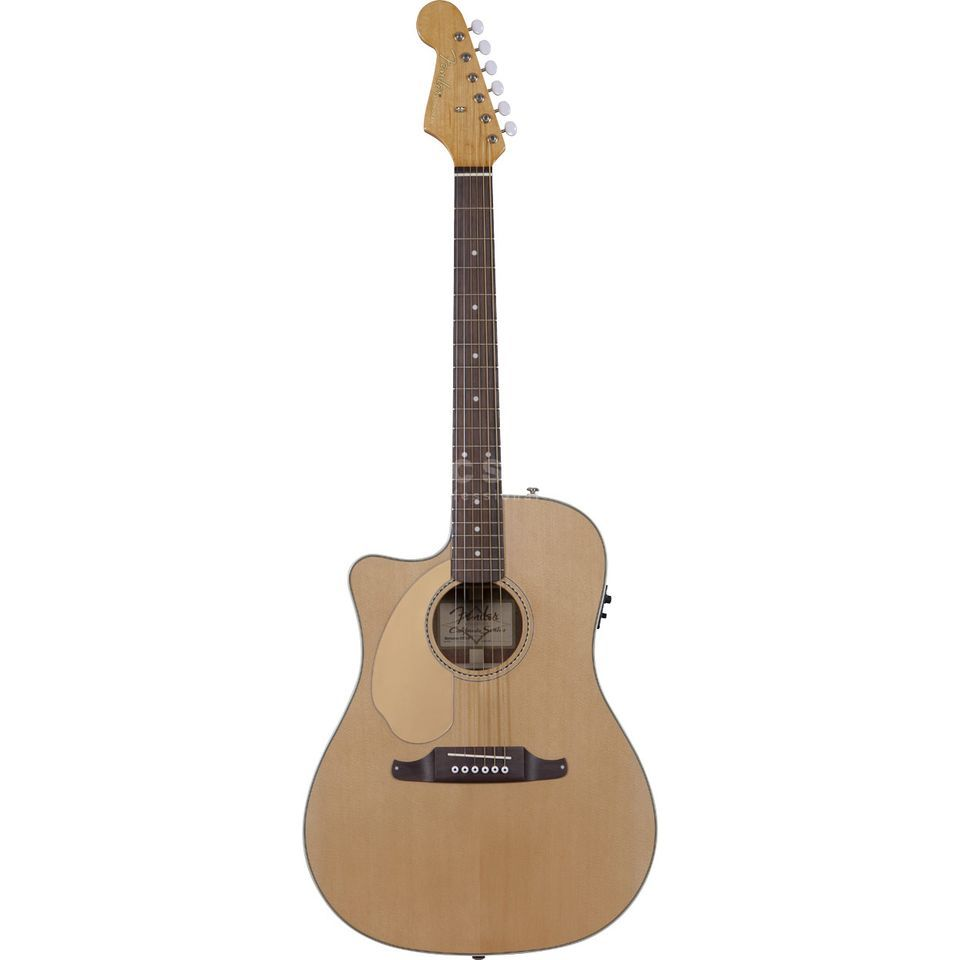Fender Sonoran SCE Lefthand Natural Solid top, Fishman Isys III Produktbillede