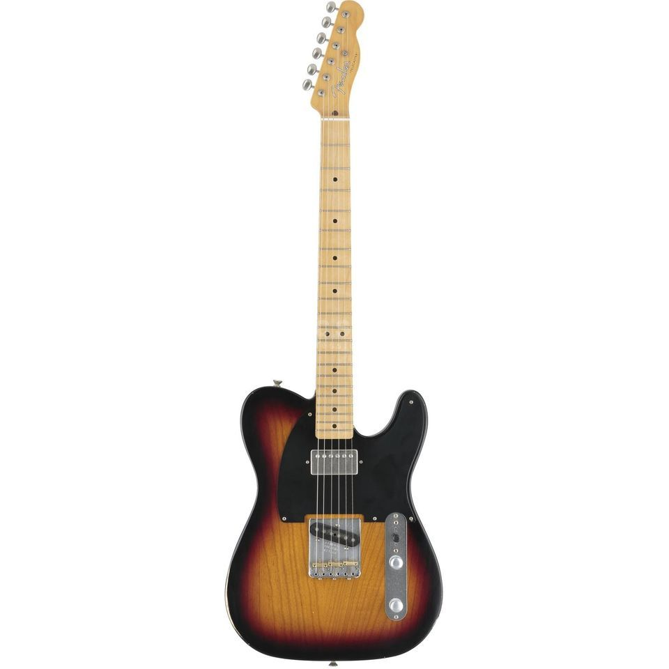 Fender Special Edition Road Worn Hot Rod Tele MN 3-Tone Sunburst Immagine prodotto