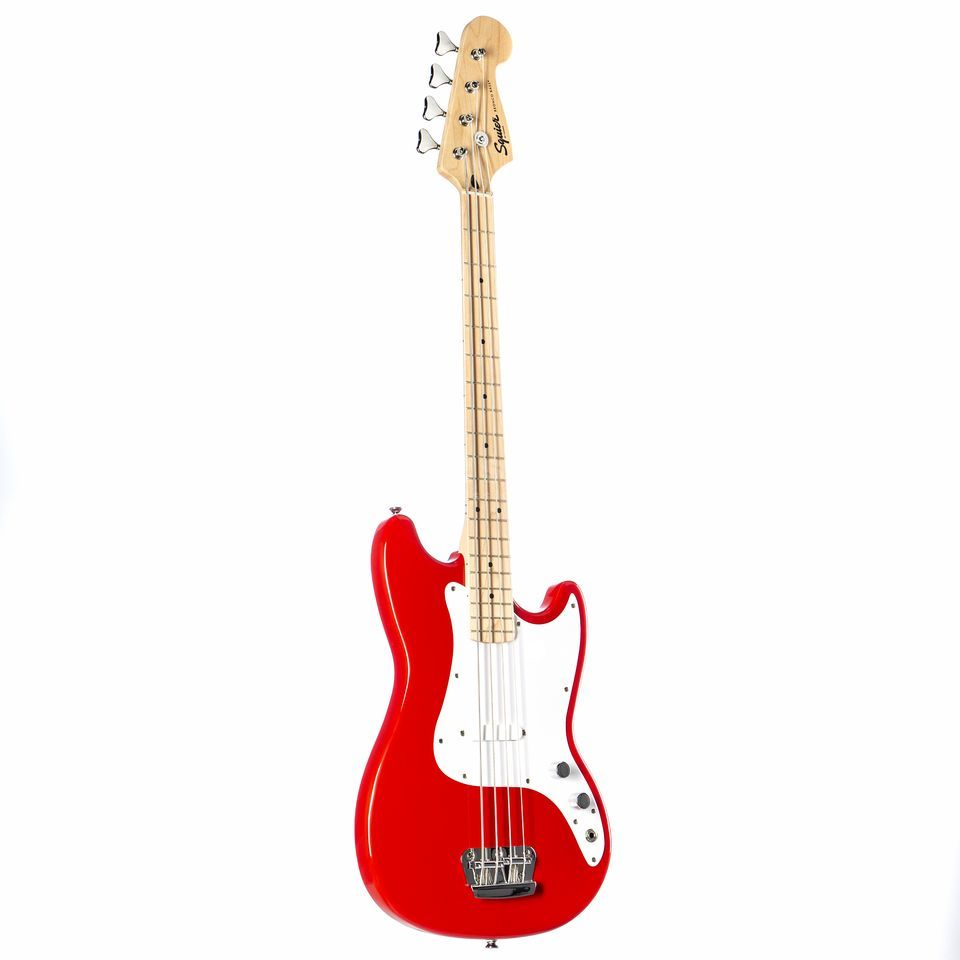 Fender Squier Affinity Bronco bas MN TRD Torino rood Productafbeelding