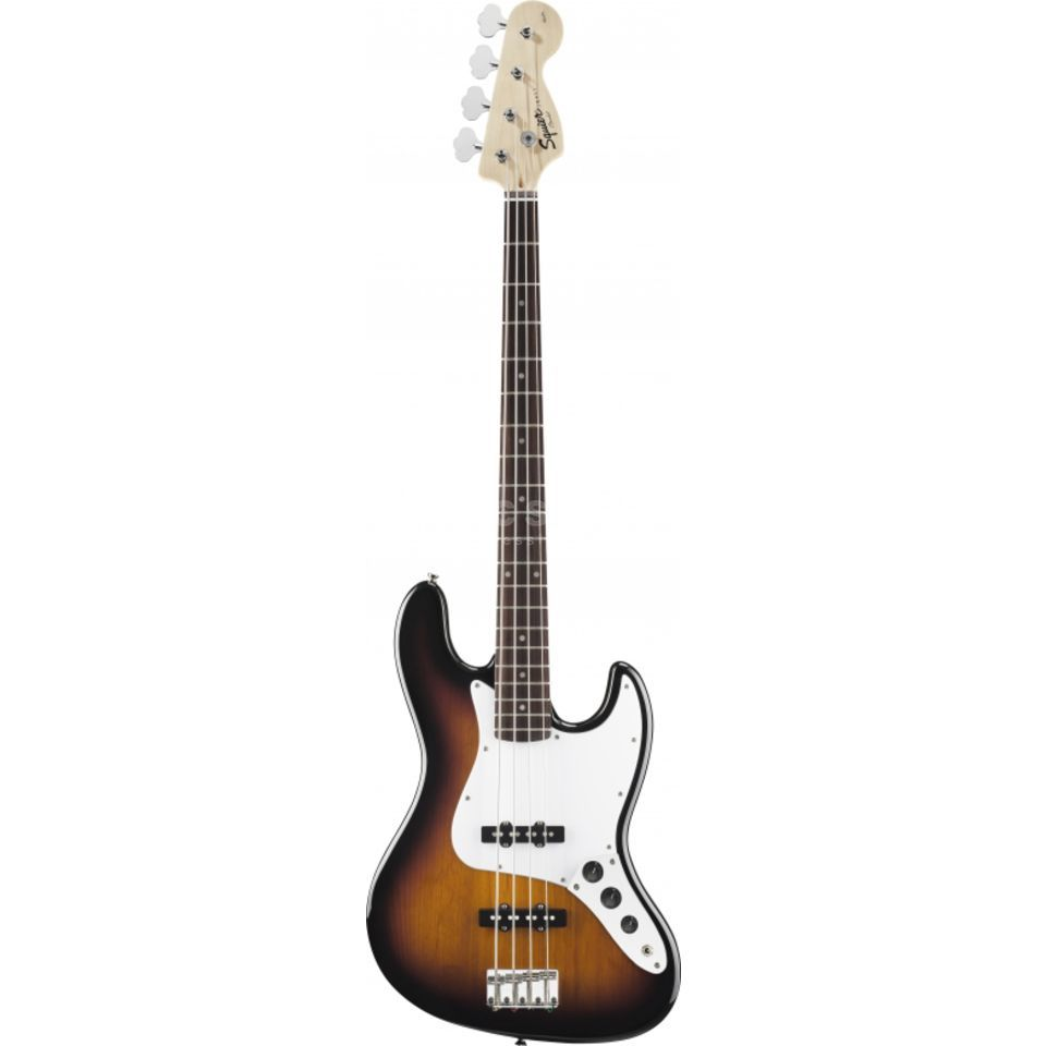 Fender Squier Affinity J-bas RW BSB Brown Sunburst Productafbeelding