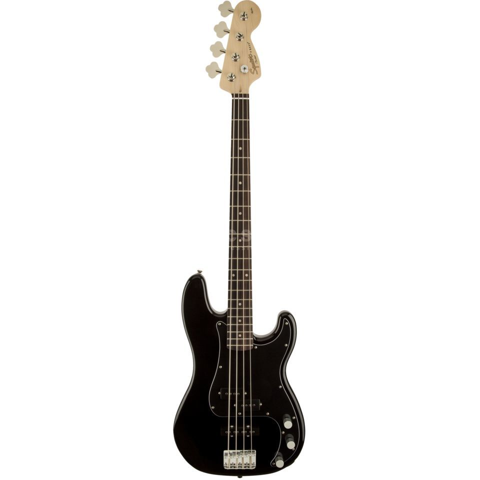 Fender Squier Affinity Series Precision Bass PJ IL Black Product Image