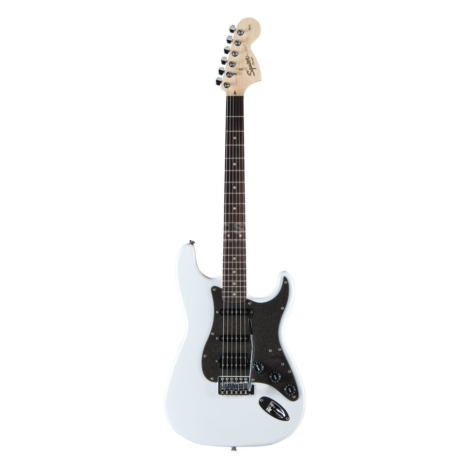 Fender Squier Affinity Series Stratocaster HSS RW Olympic White Produktbild