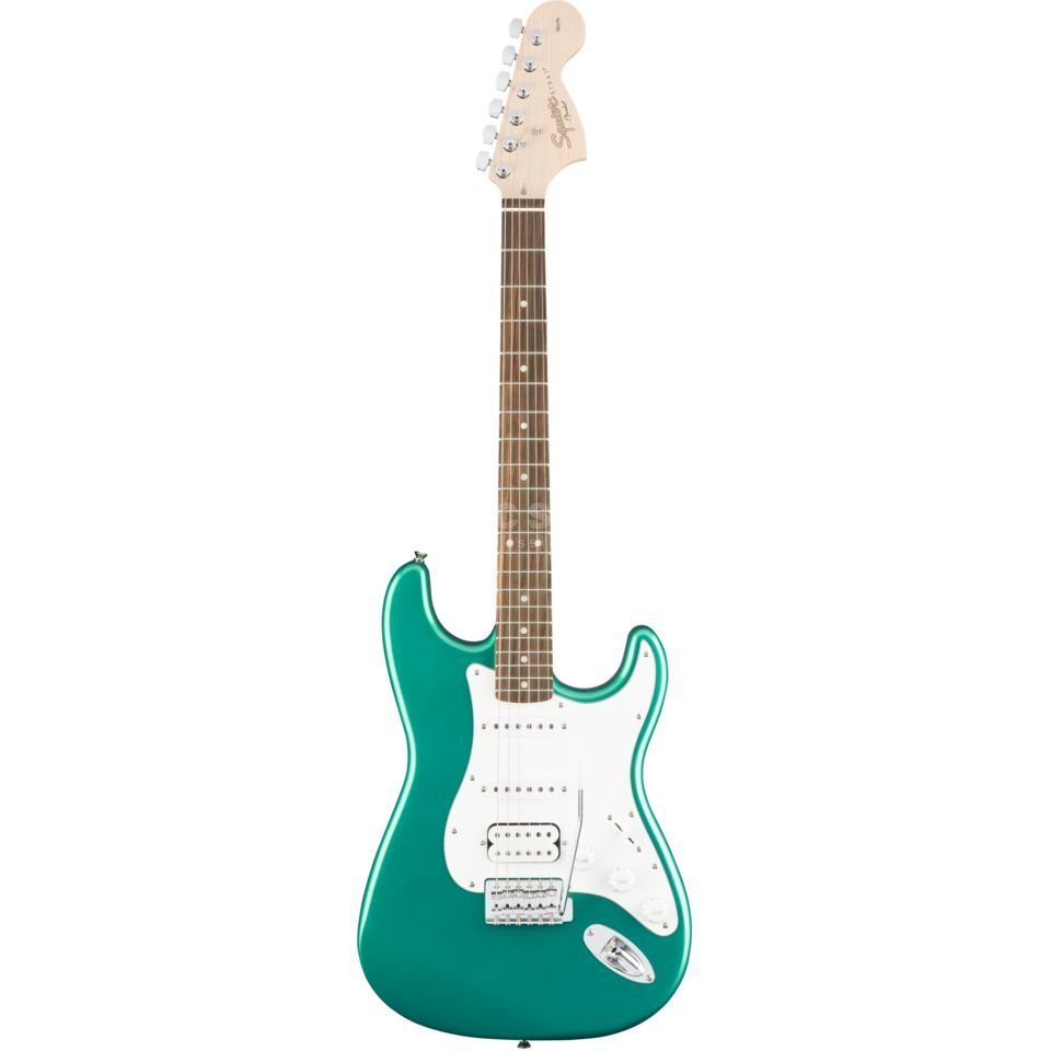 Fender Squier Affinity Series Stratocaster RW  Race Green Produktbillede