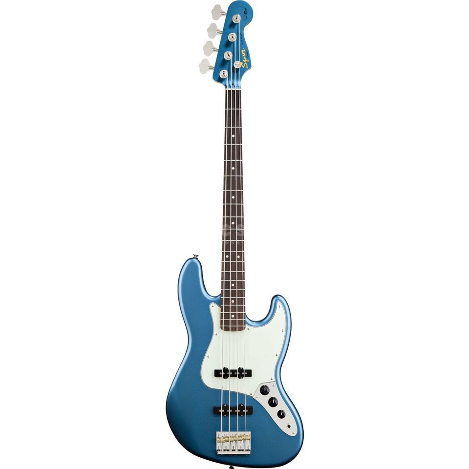 Fender Squier AS James Johnston J-Bass RW Lake Placid Blue Produktbild