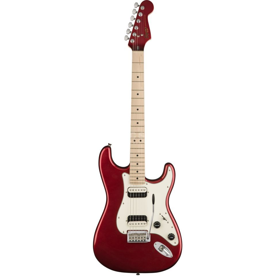 Fender Squier Contemporary Stratocaster HH MN Dark Red Metallic Product Image