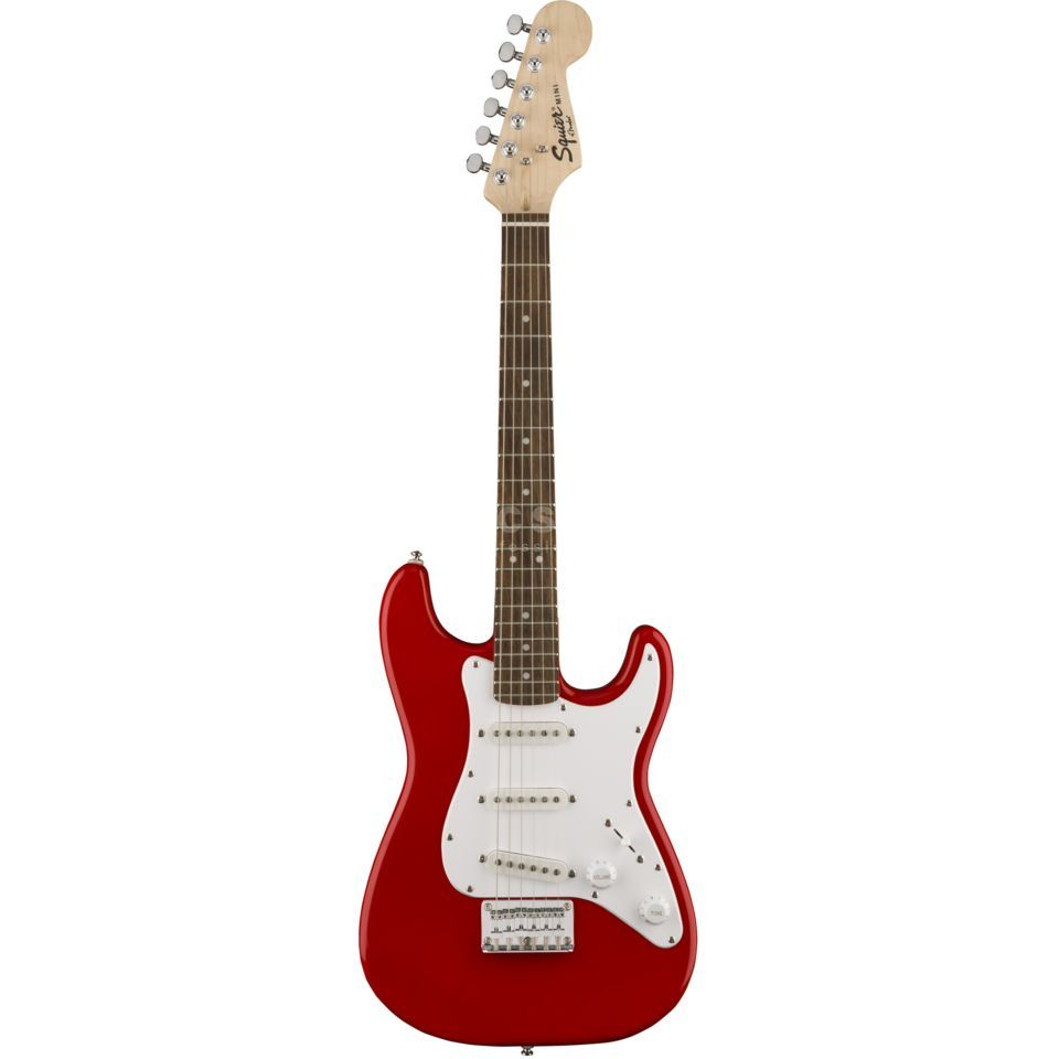 Fender Squier Mini Strat V2 Torino Red Productafbeelding