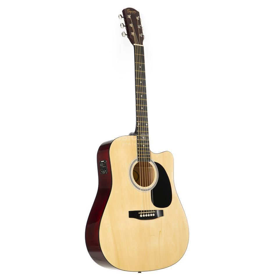 Fender Squier SA-105CE Dreadnought Natural Produktbild