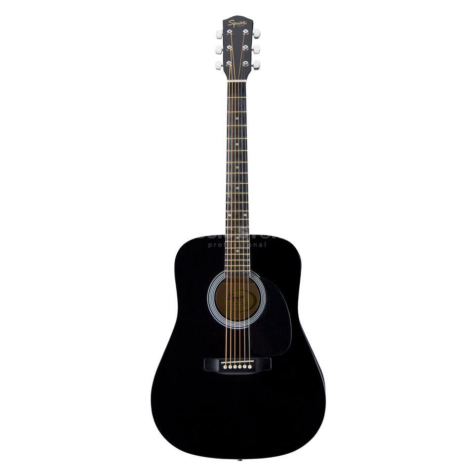 fender squier sa105 acoustic guitar black. Black Bedroom Furniture Sets. Home Design Ideas