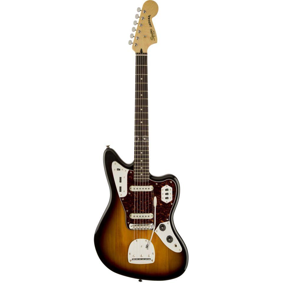 Fender Squier Vintage Modified Jaguar IL 3-Color Sunburst