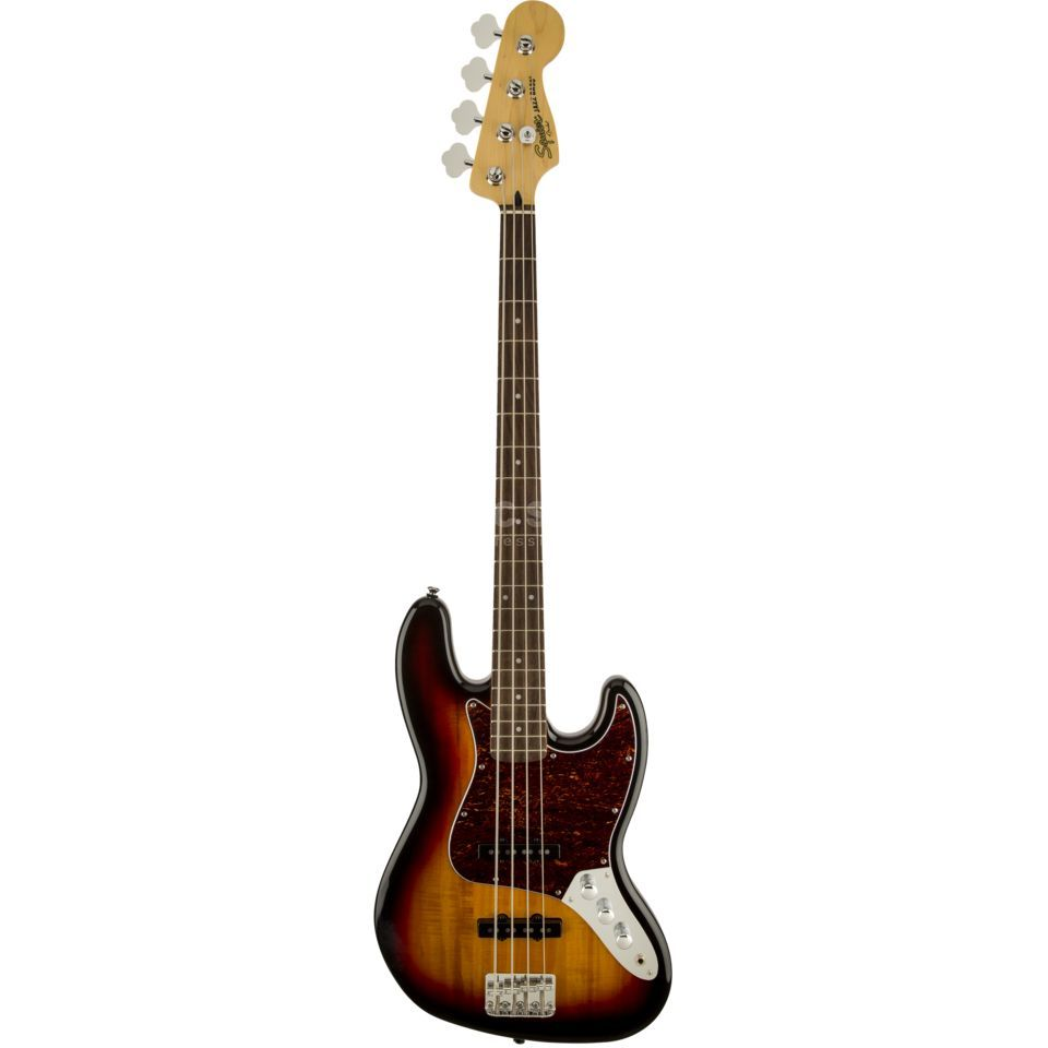 Fender Squier Vintage Modified Jazz Bass 3-Color Sunburst Imagem do produto