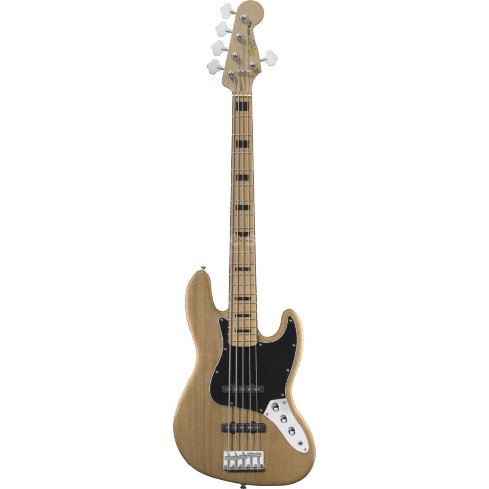 Fender Squier VM J-Bass V MN NAT Natural Produktbillede