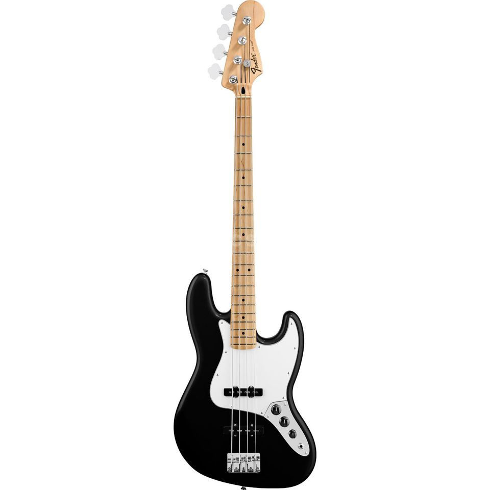 Fender Standard Jazz Bass MN Black Product Image