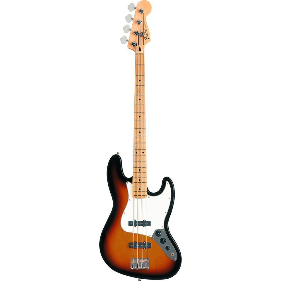 Fender Standard Jazz Bass MN Brown Sunburst Image du produit