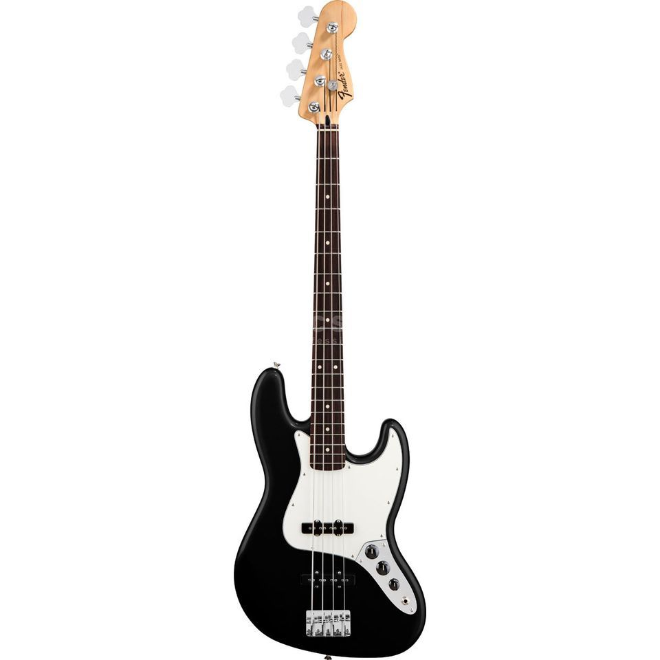 Fender Standard Jazz Bass RW Black Изображение товара