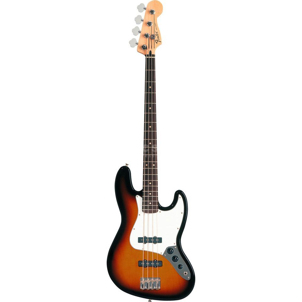 Fender Standard Jazz Bass RW Brown Sunburst Image du produit