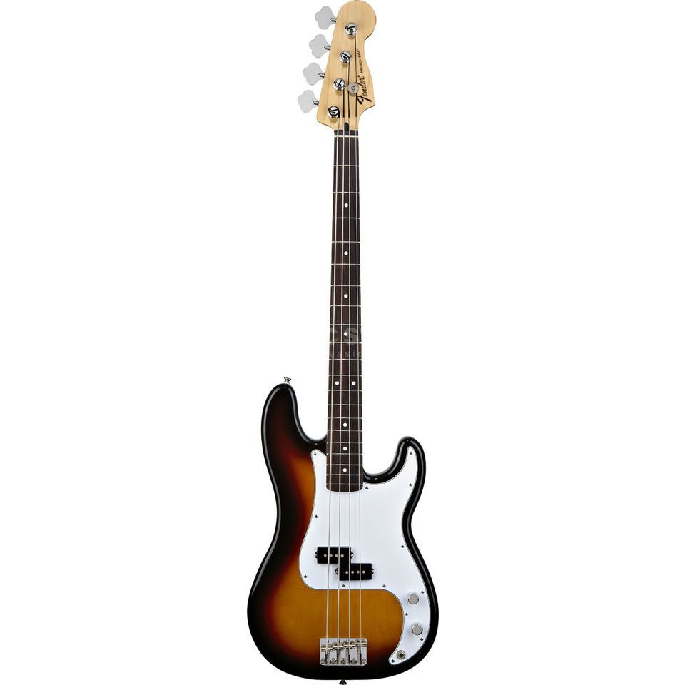 Fender Standard Precision Bass RW Brown Sunburst Productafbeelding