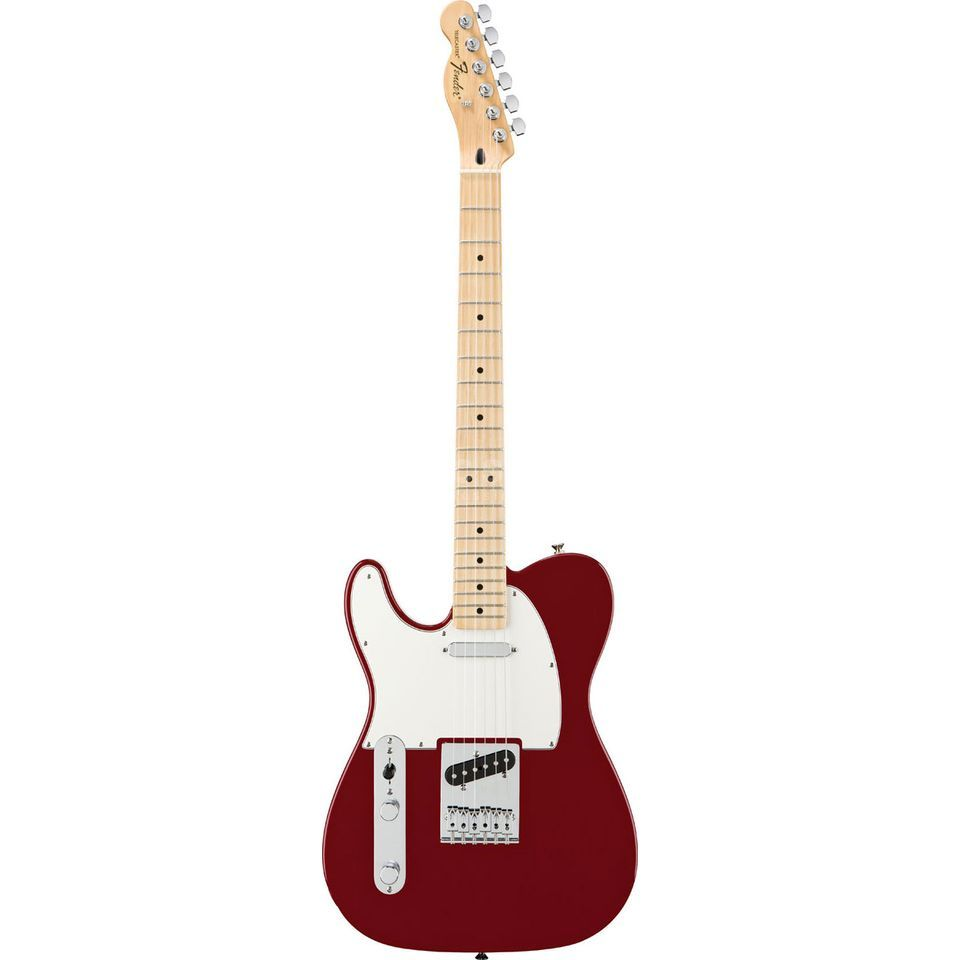 Fender Standard Telecaster Lefthand MN Candy Apple Red Product Image