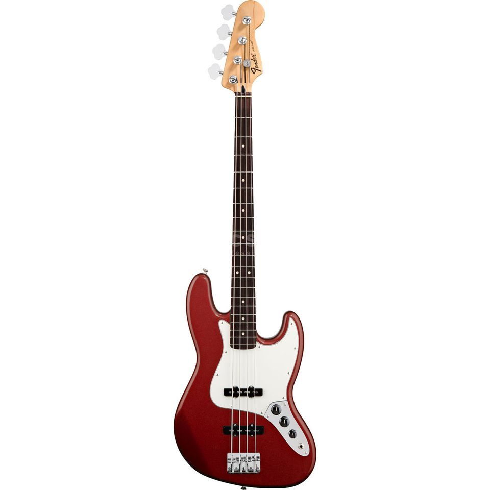 Fender Std. J-Bass RW CAR Candy Apple Red Imagen del producto