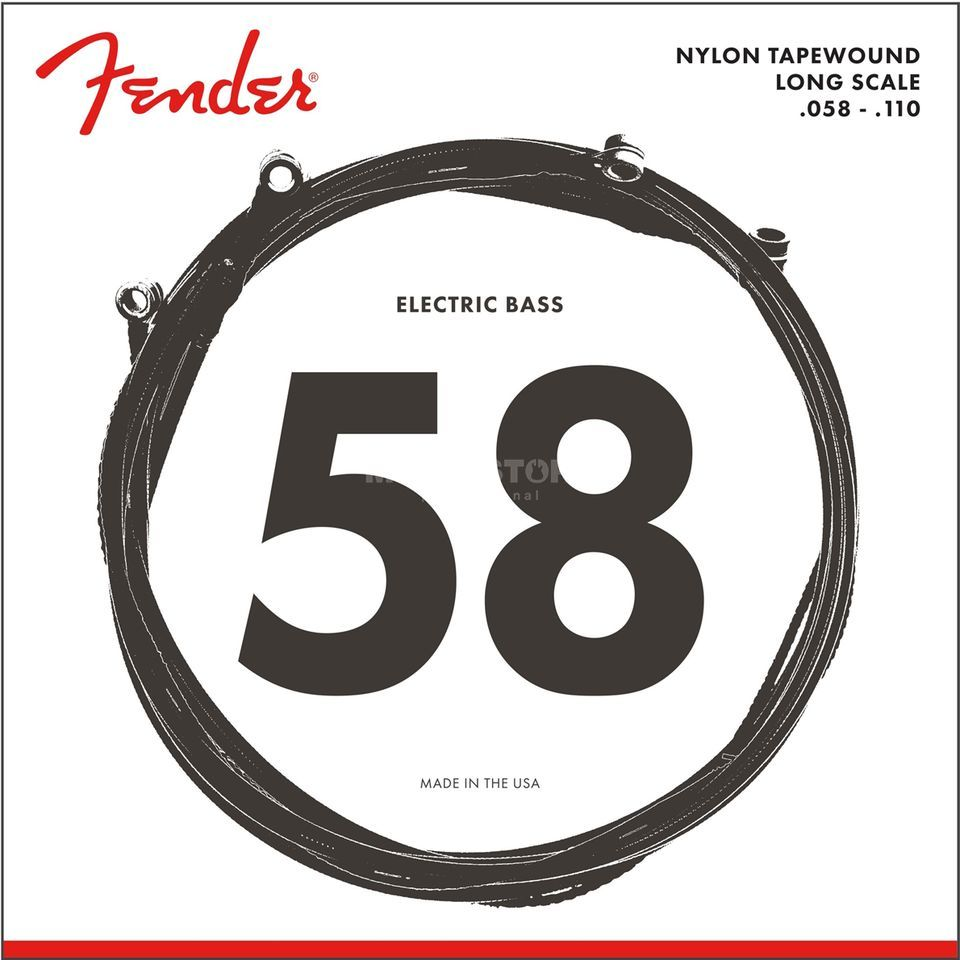 Fender Strings Nylon 9120 58-110 Nylon Tape Wound Изображение товара