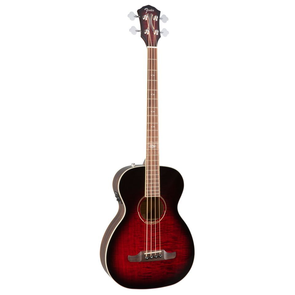 Fender T-Bucket 300E Bass Trans Cherry Burst Productafbeelding