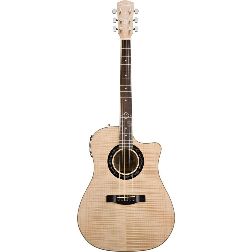 Fender T-Bucket 400CE NAT Natural Produktbillede