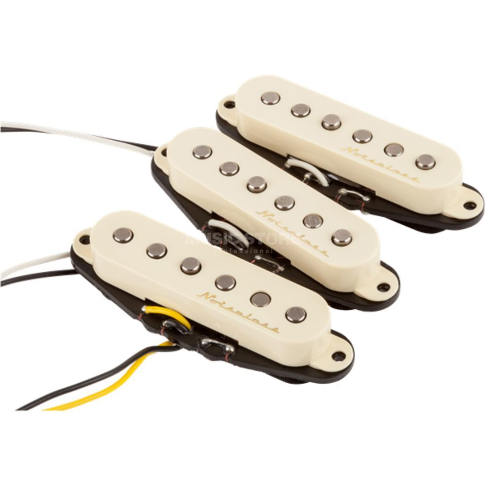 Fender Vintage Noiseless Strat Set Aged White Covers Produktbillede
