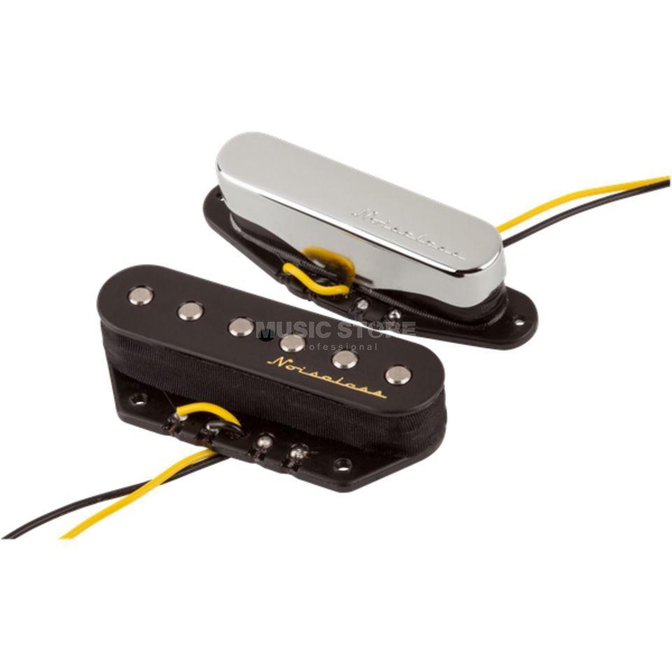 Fender Vintage Noiseless Tele Pick-Ups (Nickel) Product Image