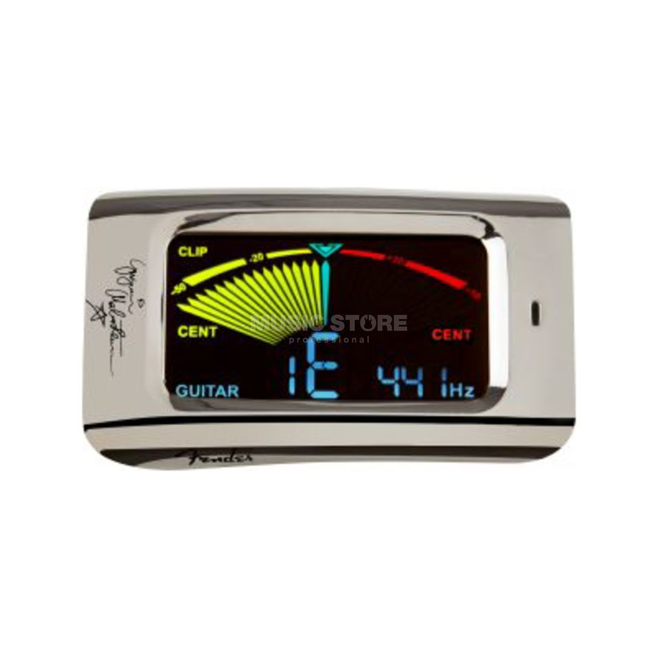 Fender YJM FCT15C Clip-on Tuner Chrome Produktbild