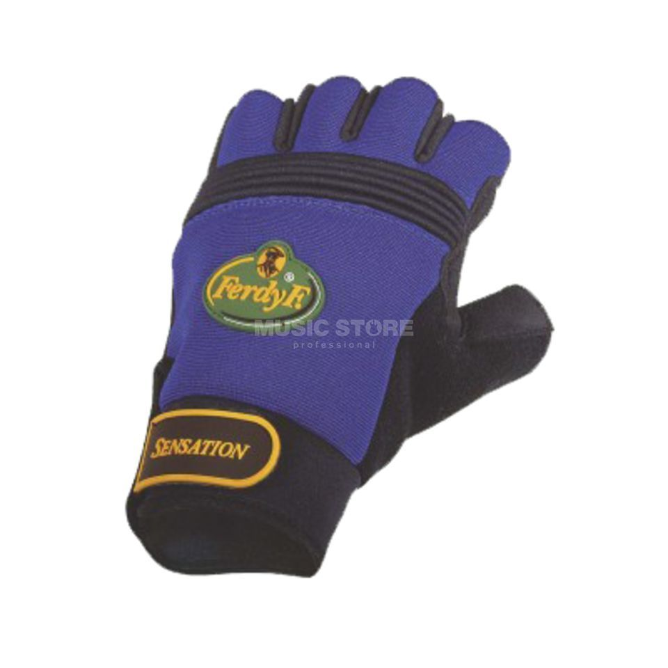 FerdyF. Gloves Sensation Size XL blue Produktbillede
