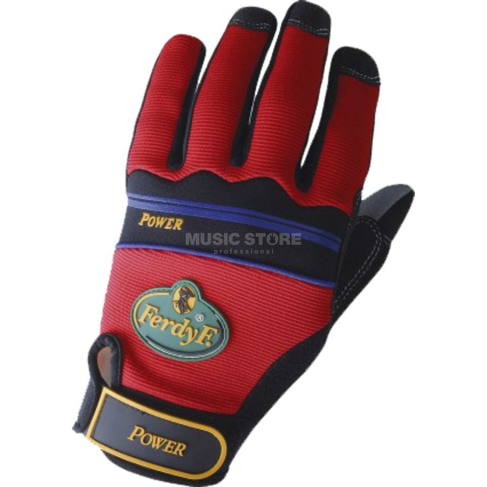 FerdyF. Power Gloves, Size L red Produktbillede
