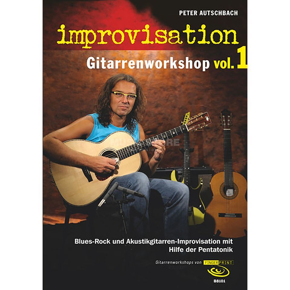 Fingerprint Improvisation, Vol. 1 Peter Autschbach Produktbild