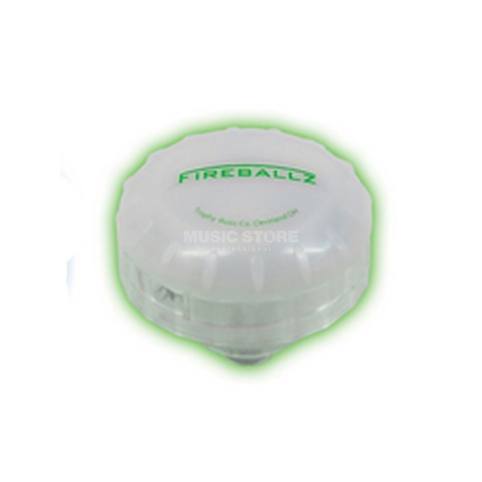 Fireballz Fireballz Cymbal Nut FX14GR, Screaming Green Produktbillede