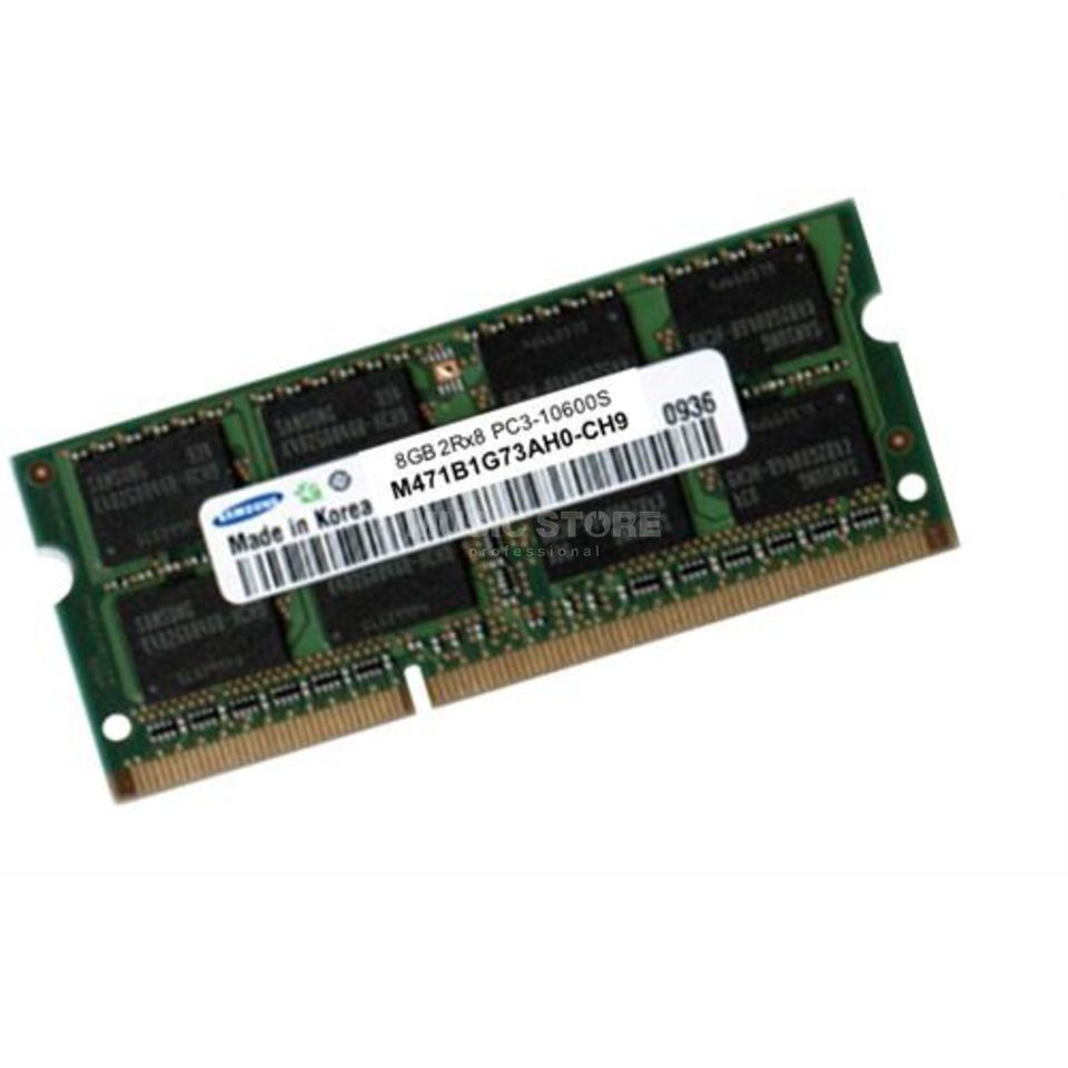 First Choice 8GB DDR3 SO-DIMM PC3-10600 MacBook Pro, iMac, Mac mini Produktbild