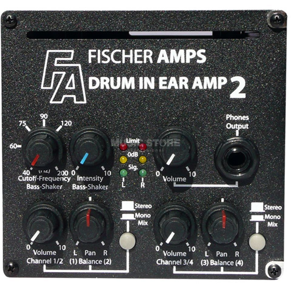 Fischer Amps Drum InEar Amp 2 incl.  Buttkicker +Holder Produktbillede