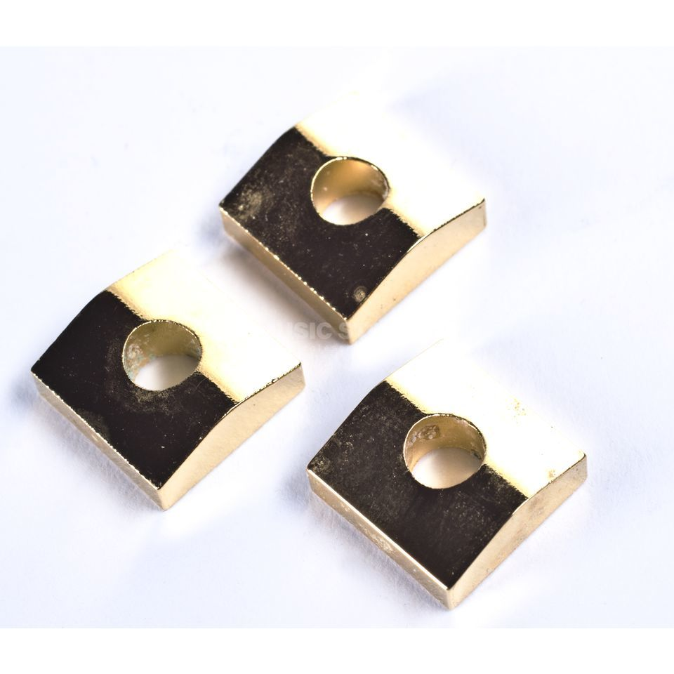 Floyd Rose Lock Nut Cape Klemmplättchen Gold 3er Set Produktbild