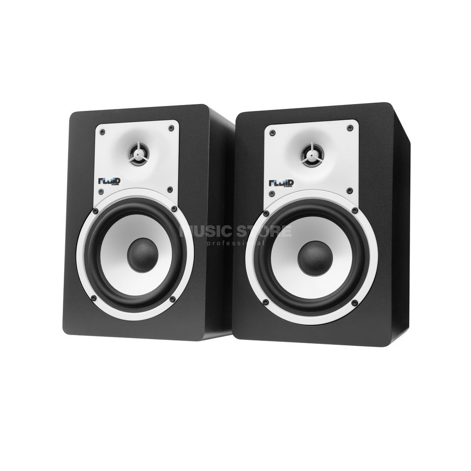 "Fluid Audio C5 BT black 5"" Bluetooth Lautsprecher Produktbillede"