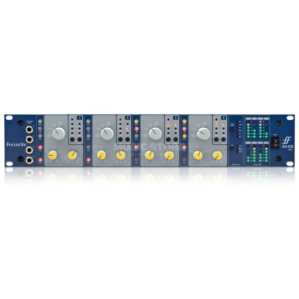 focusrite isa 428 mkii 4 canaux mic preamp. Black Bedroom Furniture Sets. Home Design Ideas