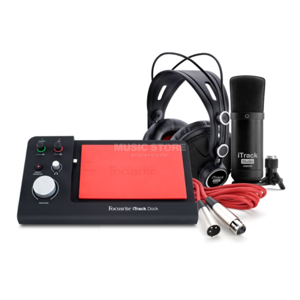 Focusrite iTrack Dock Studio Pack Product Image