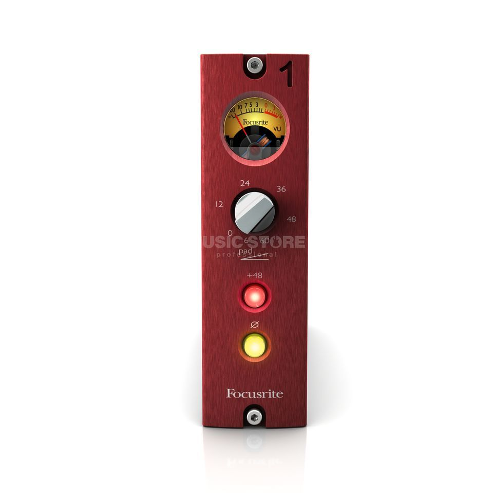 Focusrite Red 1 500 series Mic Pre    Produktbillede