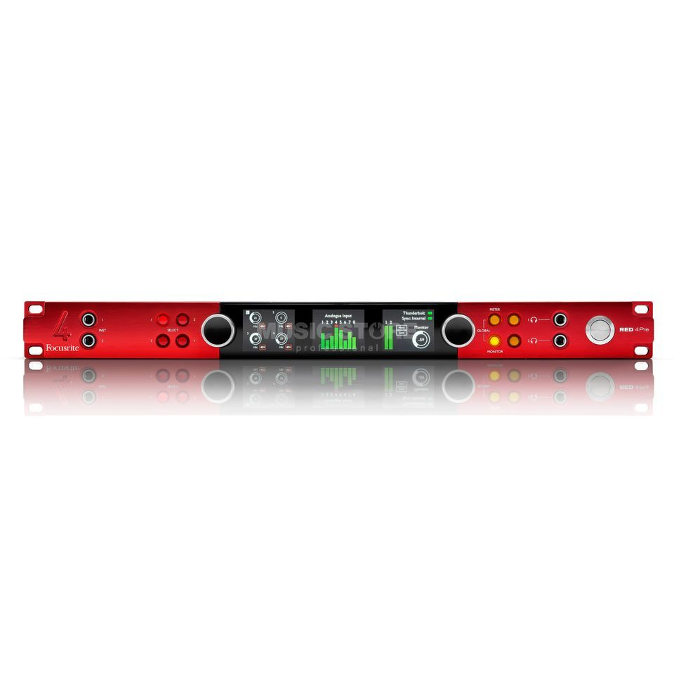 Focusrite Red 4Pre 58 Kanal Audio-Interface Produktbild