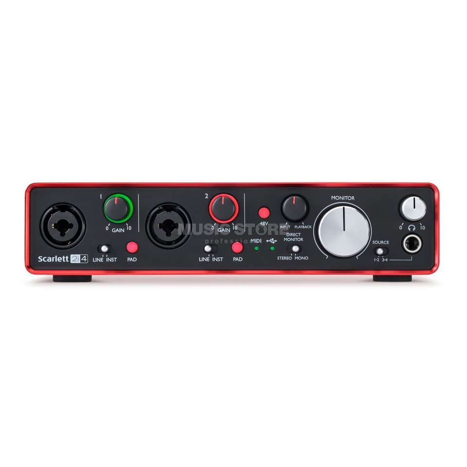 Focusrite Scarlett 2i4 2nd Gen Product Image