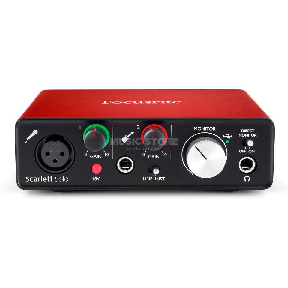 how to set up focusrite scarlett solo