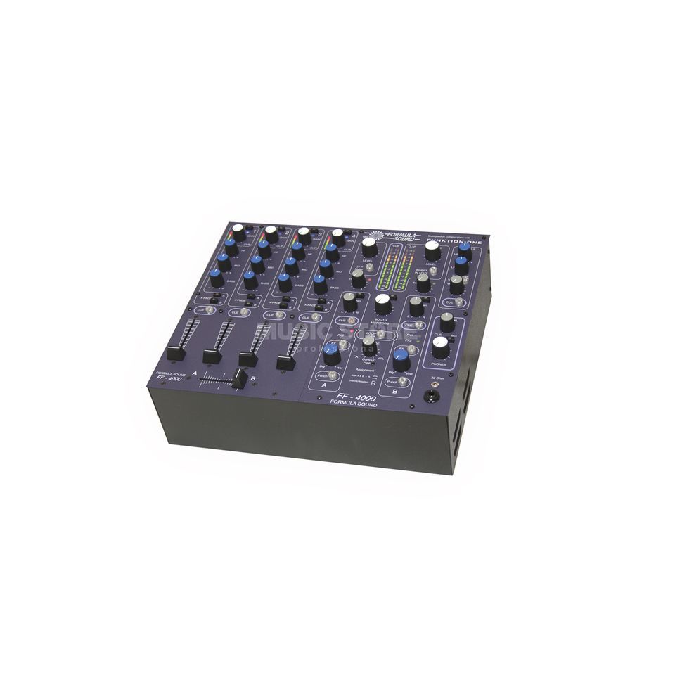 Formula Sound FF-4000 High-End Club-Mixer 4-Channel, Linear Fader Produktbillede