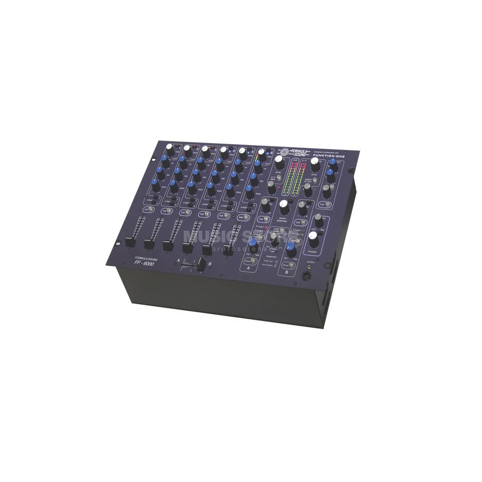 Formula Sound FF-6000 High-End Club-Mixer 6-Kanal, Linear Fader Produktbild